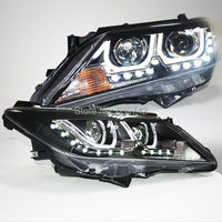 Camry LED Headlight Angel Eyes For TOYOTA 2012 year