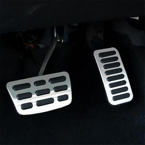 Газовое топливо тормозные колодки Крышка для Hyundai Elantra i30 Kona/для Kia Forte 2018-2019 автомобильные аксессуары Стайлинг автомобиля