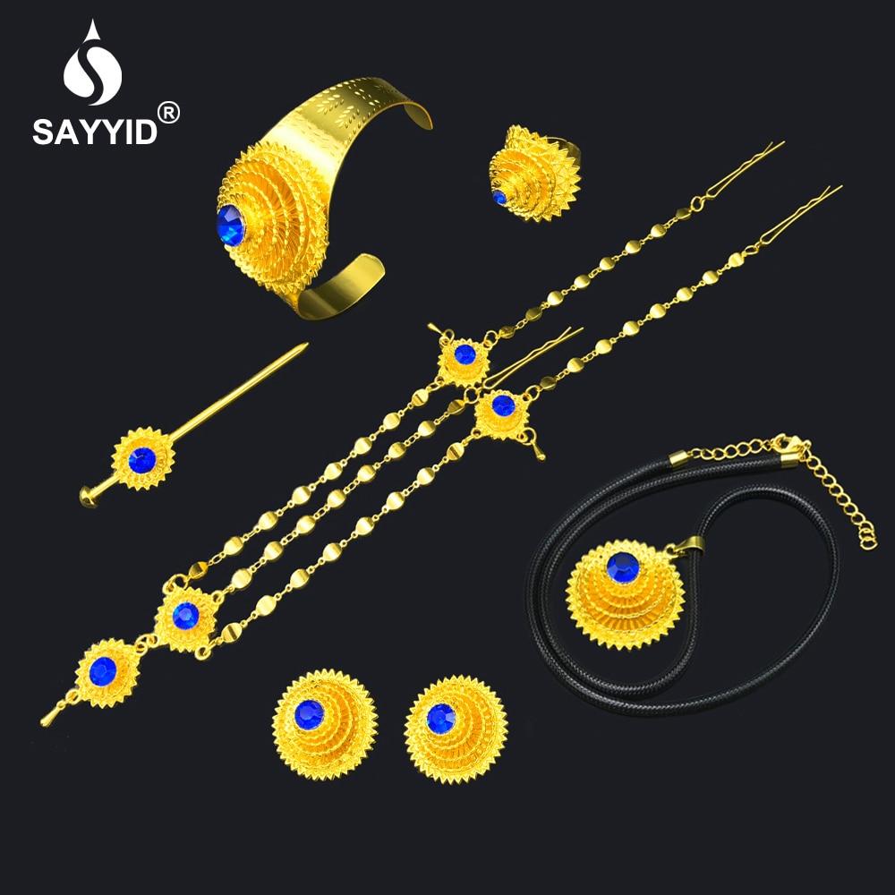 Jewelry Ring/Hair-pin/bangle African Ethiopian Bridal-Gift Wedding SAYYID
