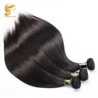 AOSUN HAIR Straight Brazilian Hair Weave Bundles 8 28 inch Brazilian Remy Hair 1/3PCS 100% Human Hair Extensions Weave Bundles