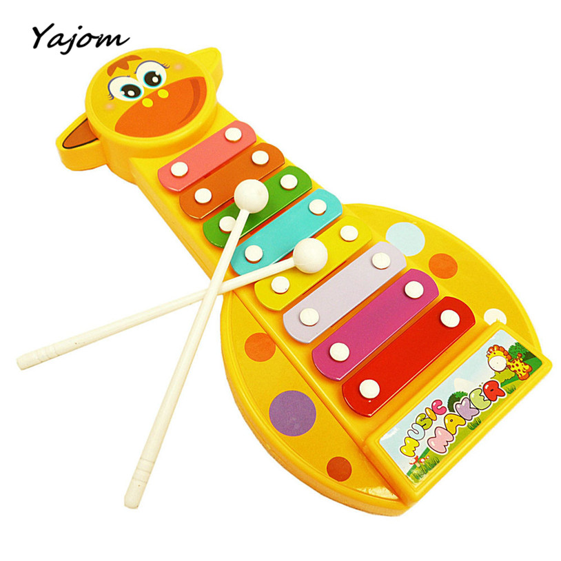 New Hot Sale Modern Kid Baby Musical Instrument 8-Note  Toy Wisdom Development Free for shipping Apr 7