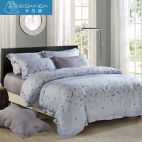 SIDANDA 4 Pcs Bedding Set Qualified Duvet Cover Bed Sheet Pillow Cover For Home Five Stars