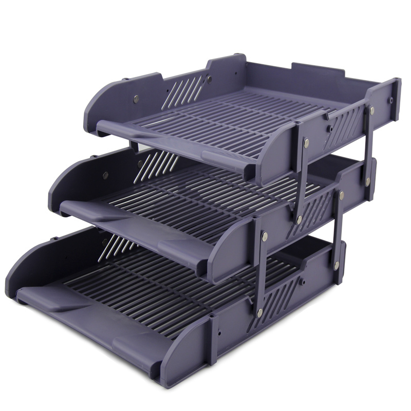 Three Layer Doent Tray Table Storage Box File Basket Office In Folder From School Supplies On Aliexpress Alibaba Group