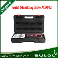 100% Original MaxiDiag Elite MD802 ALL Systems OBD II Autel MD802 Code Scanner