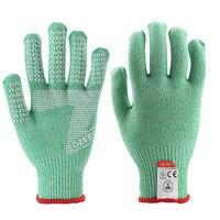 OZERO New Work Gloves HDPE Nitrile Men Welding Working Safety Protective Garden Kavlar Cut Resistant Wear