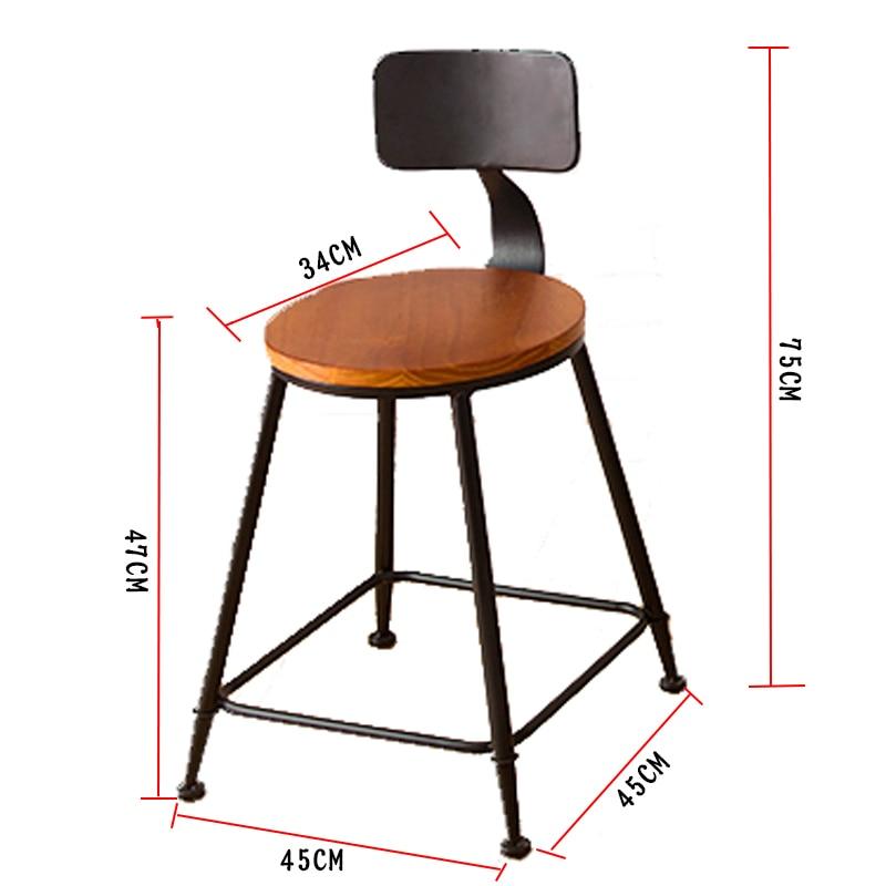 Barstool Fauteuil Stoel Sedie Tabouret De Comptoir Taburete Stoelen Sandalyeler Sedia Retro Cadeira Stool Modern Silla Bar Chair Bar Furniture