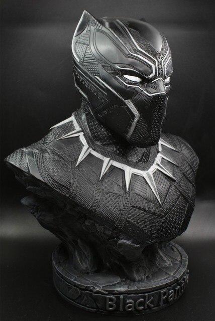 Бюст Железный человек и черная пантера Марвел 2