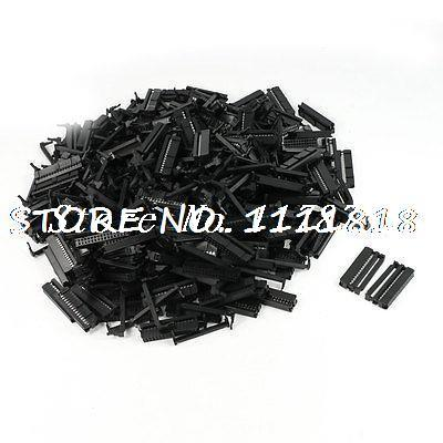 200 Pcs Flat Ribbon Cable 2 Row 30 Pin IDC Socket Connector Black видеоигра бука saints row iv re elected