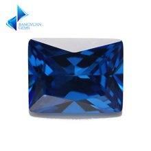 Размеры 2x4 ~ 10x12 мм Прямоугольник Форма 5a + новый синий