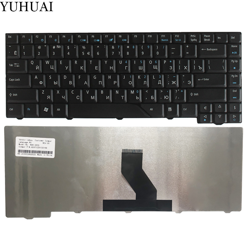 Russian Keyboard for Acer Aspire 5315 6920 MS2220 5312 4730 4730Z ZO1 1641 5930G 4520G 4510 6920G 6935G 4930G 6935 7300 RU BlackRussian Keyboard for Acer Aspire 5315 6920 MS2220 5312 4730 4730Z ZO1 1641 5930G 4520G 4510 6920G 6935G 4930G 6935 7300 RU Black