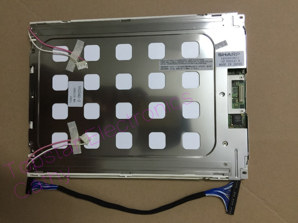 LQ104V1DG21 LQ104V1DG11 LQ104V7DS01 original 10.4 inch 640*480 LCD Display Screen TFT LCD Panel  A+LQ104V1DG21 LQ104V1DG11 LQ104V7DS01 original 10.4 inch 640*480 LCD Display Screen TFT LCD Panel  A+