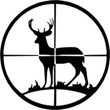 hunting shopping promotion shop for promotional hunting shopping on Coyote Hunting LED Light hunt sticker car hunting shoot buck hunter shop posters vinyl wall decals decor chase mural sticker