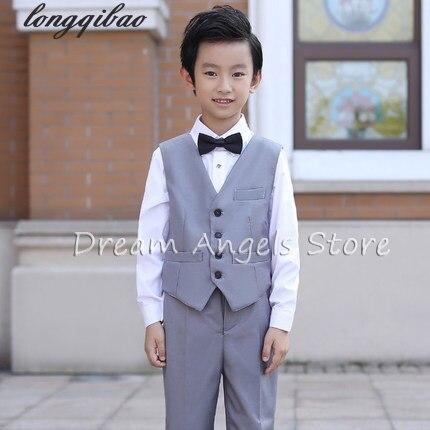 4fa144b3853f 5pcs High quality new fashion baby boys kids blazers boy suit for ...