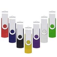 novelties goods from china Dual Rotation Smart Phone OTG USB Flash Drives 64gb 32gb 16gb 8gb 4gb external storage memory stick