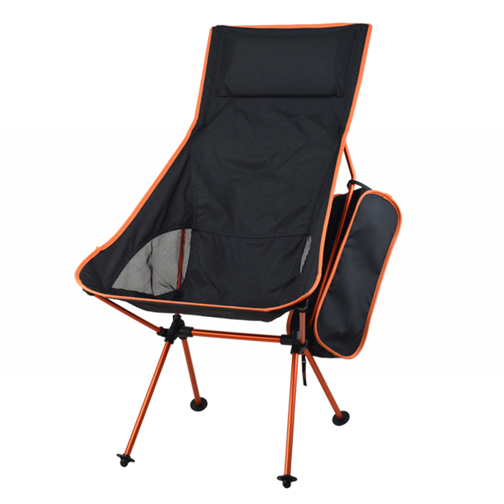 Lengthen Portable Fishing Chair Seat Lightweight Folding