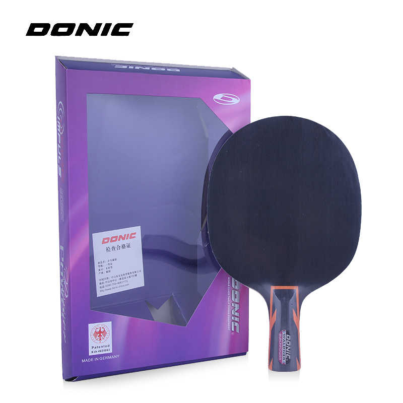 DONIC Waldner BLACKPOWER (Black Power, 5 Ply Wood) Racket Table Tennis Blade Ping Pong Bat Tenis De Mesa Paddle