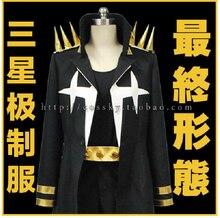 Новое поступление убить ла убить Uzu Sanageyama единая черный экипировка косплей костюм окончательный вариант