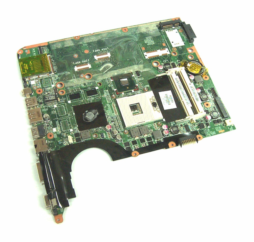 Free Shipping Original laptop Notebook system board motherboard 600862-001 580973-001 for HP Pavilion DV7 DV7T DV7T-3100 server system motherboard for dl320g5p ml310g5 450120 001 454510 001 original 95