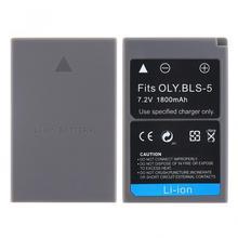7.2V 1800mAh PS-BLS5 BLS-5 BLS5 BLS-50 BLS50 Li-ion Rechargeable Camera Battery for Olympus PEN E-PL7 E-PM2 E-M10 II Stylus1