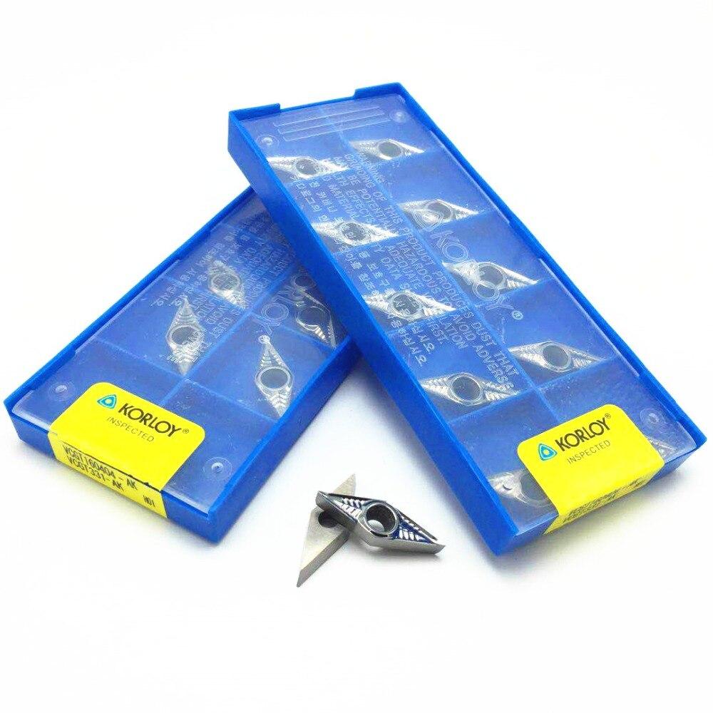 for Aluminum VCGT160404-AK H01 VCGT331-AK Carbide inserts CNC Aluminum Inserts