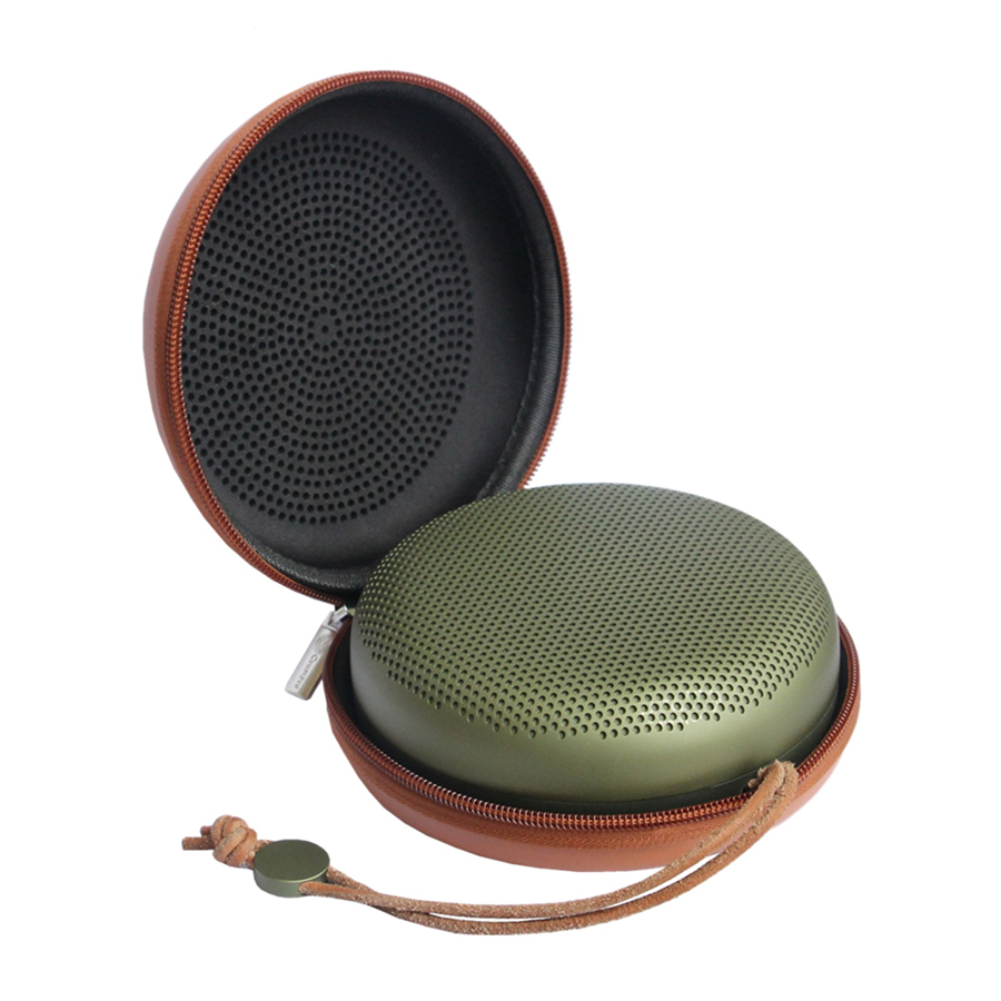 Case For B&O Play by Bang & Olufsen Beoplay A1Portable Wireless Bluetooth Speaker PU EVA Bag Zipper Pouch Hard Case