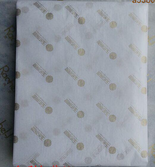 Logotipo personalizado de lujo/ropa impresa de marca/zapatos/trajes/abrigos de regalo papel de embalaje de papel a prueba de humedad papel de embalaje-in Etiquetas de ropa from Hogar y Mascotas    1
