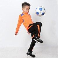 Kids Survetement Football Long Sleeve Soccer Tracksuit Jersey Men's Maillot De Foot Boys Training Football Suit FLG