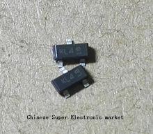 50PCS diodos Schottky BAT54S L44 LD3 KL4 WV4 0.2A/30V SOT23
