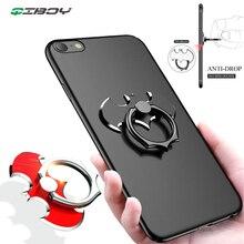 Batman Aluminum Metal Finger Ring Holder 360 Degree Cell Mobile Phone Desktop Stand For iPhone Xiaomi Smartphone Bat Desk