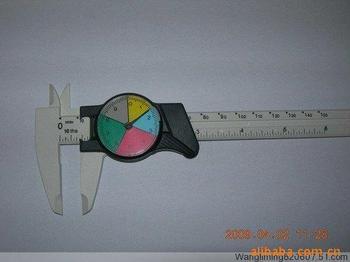 Pinzas de reloj de banda de plástico, medidores de cinta, pinzas vernier