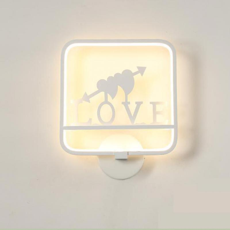Led Aluminum Bedroom Modern Wall Lights Living Room Stairs Aisle Corridor Bedside Tv Wall Lamp House Lighting Fixtures 12w conch shape led wall lamp bedside lamp modern living room corridor hallway stairs lights pathway sconce lighting