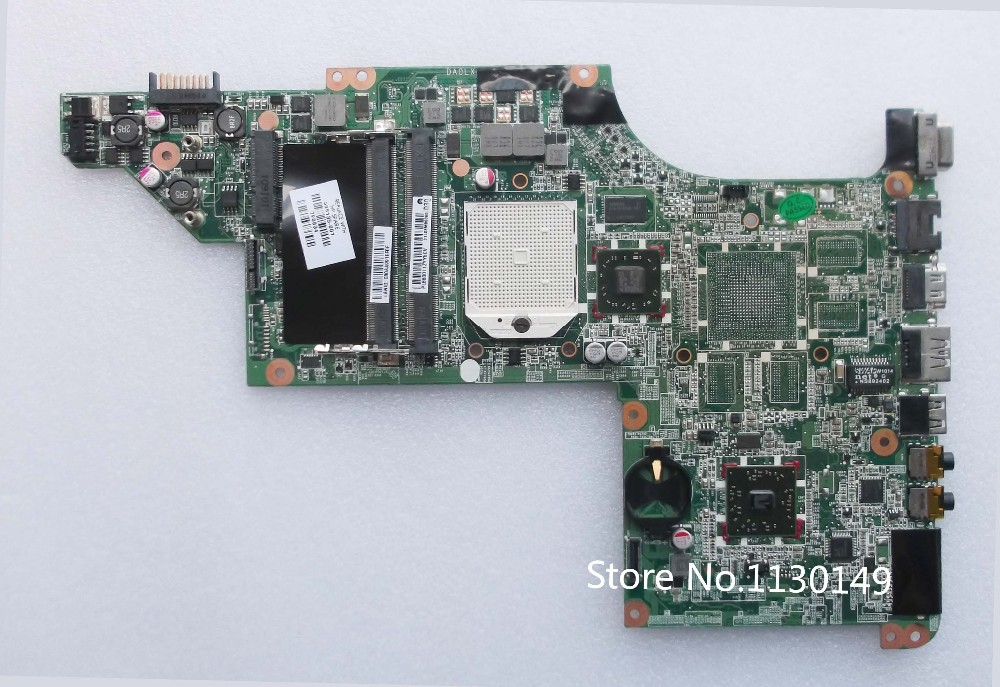 ФОТО Free Shipping 595135-001 FOR Hp Pavilion DV6 DV6-3000 motherboard AMD/DDR3/ Integrated FULL TESTED