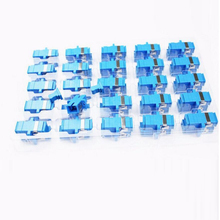 50PCS/bag SC UPC Simplex mode Fiber optic Adapter SC Optical fiber coupler SC Fiber flange SC UPC connector Free shipping(China)