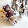 Desenhos animados Brinquedos de Pelúcia Urso/Robô/Panda Travesseiro Presente de Natal Do Bebê Almofada Do Sofá Almofadas Decorativas para Crianças do Quarto Da Cama frete Grátis