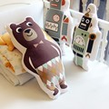 Juguetes de Peluche Oso de dibujos animados/Robot/Panda Almohada de Regalo de Navidad Del Bebé Almohadas Decorativas para Niños Sala De Sofá Cama Cojín envío Gratis