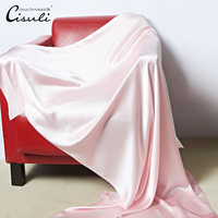 CISULI100% Natural Silk Satin Bed Blanket New Design Big Size 110X200cm Christmas Decorations For Home Silk Cover Winter Blanket