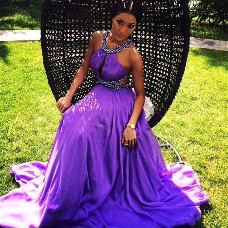 Cheap purple graduation dresses
