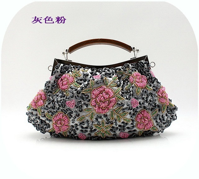 Chrismas Evening Bag ,Women Lady Clutch Handbag , Bride Bag Purse Party handbag 003