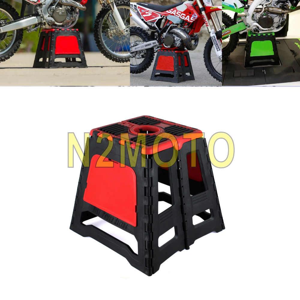 Superb Universal Motocross Stand Stool Repairing Lift Repair Short Links Chair Design For Home Short Linksinfo