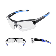 GUB 5600 Cycling Running Sports Sunglasses with PPG Discolour Lenses and Soft Carry Pouch Anti UV400 Outdoor Sports Glasses