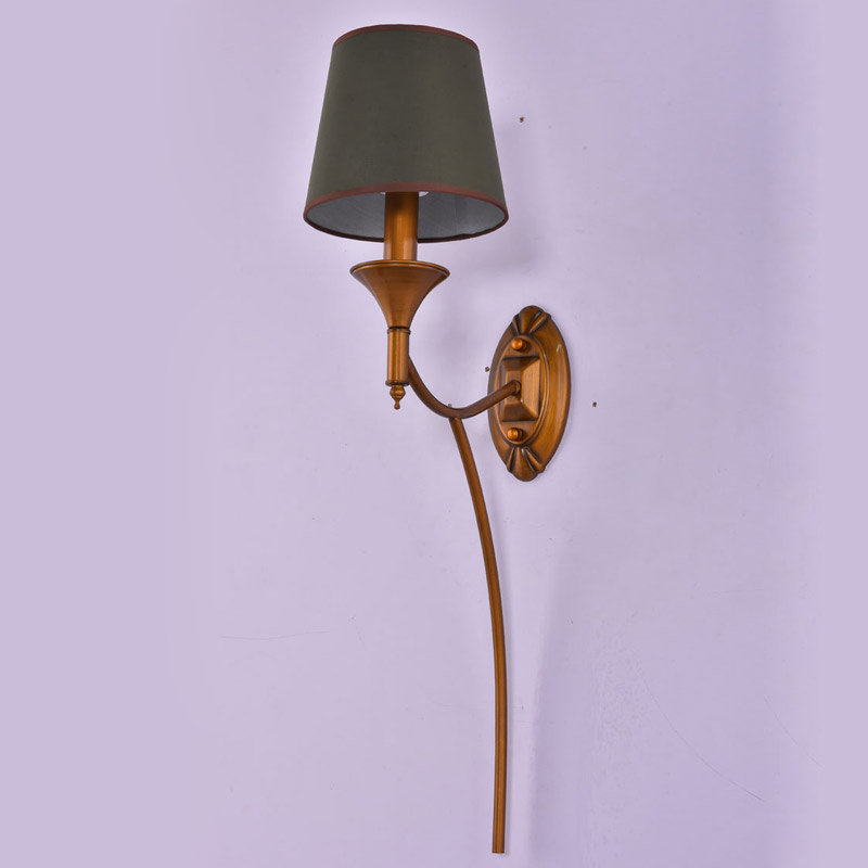 Vintage Copper Pipe Wall Lamp Bedroom Hallway Stair Light Sconce Iron Green Fabric Lampshade Decor Home Lighting E14 110-240V kitchen aisle stair light wall lamp vintage iron fabric lampshade decor sconces indoor home lighting gift e14 3w led bulb 220v