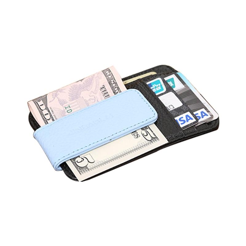 כרטיס עור אמיתי ארנק סלים עם ארנק ארנק - ארנקים