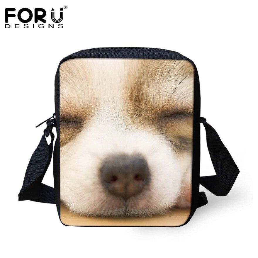 FORUDESIGNS/женская маленькая сумка через плечо с объемным рисунком собаки чихуахуа, модные женские сумки-мессенджеры, сумки через плечо - Цвет: H932E