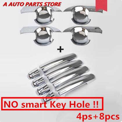 ABS Chrome boczne klamka do drzwi samochodowych pokrywa uchwyt pokrywa misy wykończenia odlewnictwo akcesoria dla Suzuki Vitara Escudo 2015-2019