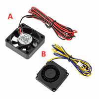Creality Ender 3 Original 4010 Fans 40x40x10 MM DC 24 V Extruder Hot End Fan und DC 24 V Turbo Fan für Ender 3 3D Drucker