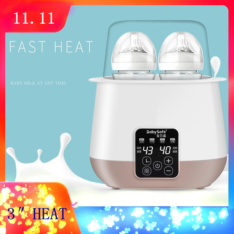 Bottle Warmer Multifunction Smart Baby Heating Milk Bottle Sterilizer Thermostat Warmer Disinfection Food constant temperature heat insulation double milk bottle sterilizer multifunction baby bottle warmer