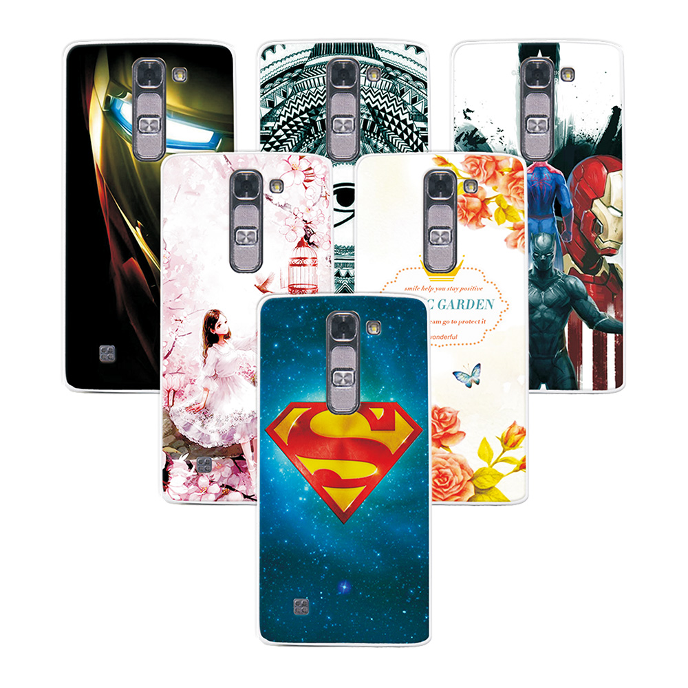 Fashion Attractive phone Case For LG Magna C90 For LG G4C G4Mini Super Iron Man Painted Back Protector For LG Magna C90 Case