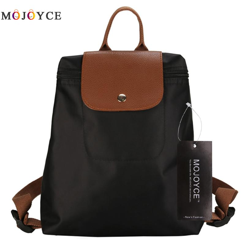 Women Backpack Waterproof nylon School Bags Students Backpack Women Travel Bags Folded Backpack for Teenager Girls mochila