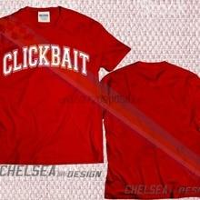 11bdf815e9848 New Limited Edition Youtube David Dobrik Clickbait T-shirt dk1(China)