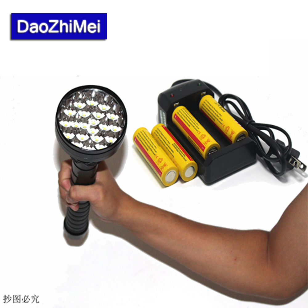 24*XML T6 LED 30000 lumen 18650 26650 exploration torch light flashlight tactical lantern,self defense,camping light, lamp brightness 24000lm 12x xml t6 led flashlight torch 6x 18650 camping light